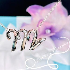 Tiffany & Co. Paloma Picasso Zodiac Virgo Pendant Necklace in Sterling Silver